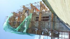 torony díszablak beépítés 1